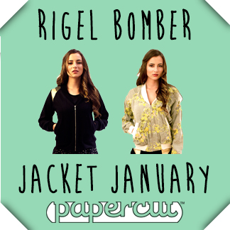 introducing… rigel bomber jacket january!